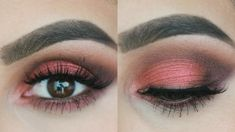 Urban Decay Vice 3 Palette: Fall Makeup Tutorial -- I don't know if I could pull this off, but it looks so gorgeous on her!