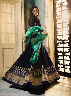Buy Amyra Dastur Blue Abaya Style Anarkali Suit online, SKU Code: This Blue color Party anarkali suit for Women comes with Embroidered Faux Georgette. Lehenga Gown, Anarkali Dress, Anarkali Suits, Blue Abaya, Gown Suit, Party Wear Dresses, Party Dress, Party Party, Abaya Fashion