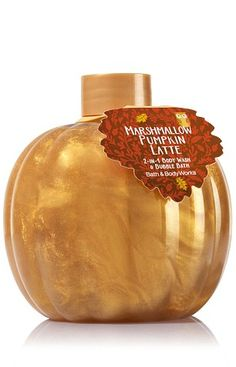 Bath and Body Works 2-in-1 Body Wash and Bubble Bath in Marshmallow Pumpkin…