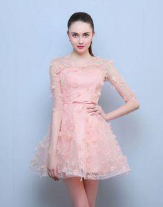 Rochie scurta Pink Sensation Formal Dresses, Fashion, Dresses For Formal, Moda, Formal Gowns, Fashion Styles, Formal Dress, Gowns, Fashion Illustrations