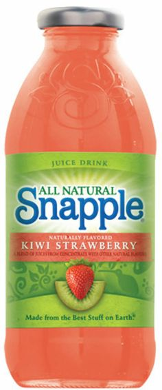 snapple kiwi strawberry fruit juice I  want to try this version I have good experience with snapple (mango madness) favorite