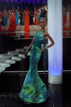 Miss Bermuda Barbie Doll 2012