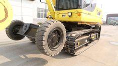 Amazing! X8 wheel crawler excavator xiniu excavator