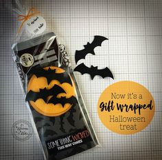 Need a Halloween treat for your co-workers? It's Written on the Wall: Halloween-Something Wicked This Way Comes--Candy Bar Wrapper-Party Favor-Office Treats and More