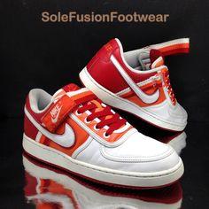 4451312efdc4 Nike Mens Vandal Trainers White Orange size 7.5 Low Retro Sneakers US 8.5  EU 42