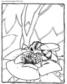 59 best bee coloring pages images on Pinterest | Bee coloring pages ...