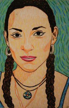 a faithful attempt: Van Gogh Style Portrait