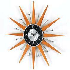 George Nelson Wooden Starburst Clock