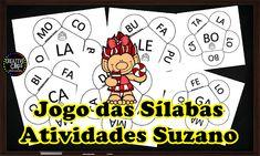 Jogo das sílabas | Atividades Pedagogica Suzano