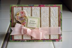 it happened like this...: anna griffin cuttlebug embossing folders...cool way to use border embossing folders!