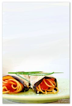 pasta alla norma involtini Italian Pasta Recipes Authentic, Sicilian Recipes, Ricotta, Pot Pasta, Spaghetti, Cooking, Kitchen, Cuisine, Koken