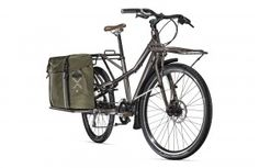 Trek Electric Cargo Bike side view
