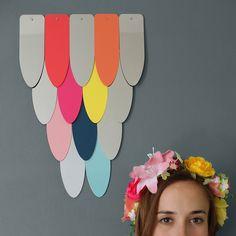 News Lovely Market - Miroir mural design, coloré - Objets design pour toute la famille !...