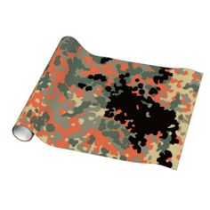 Camo Pattern fun wrapping paper