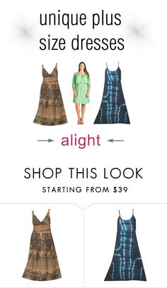 """""""new unique plus size dresses"""" by alight-com on Polyvore"""