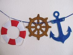 Nautical theme banners - In The Hoop