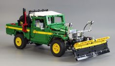 This beautiful Technic Toyota FJ45 Land Cruiser pick-up was discovered by one of our Elves on MOCpages. It's the work of Egor Karshiev aka RM8, who has continued to develophis originalFJ40 Land C...