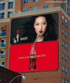 Lo bueno dos veces bueno 20 dobles vallas publicitarias de lo mas creativas - Puro Marketing