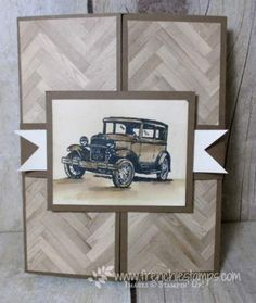 Fancy Fold Blog Hop Secret Door and Message card