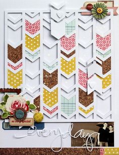 """Silhouette cameo tutorial for a DIY stencil page using a Free font """"Stencil Std"""" - from The Bear's Garden http://www.baersgarten.com/blog/?p=2548"""