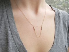 Meridian Necklace by MadeByMaru on Etsy, $25.00