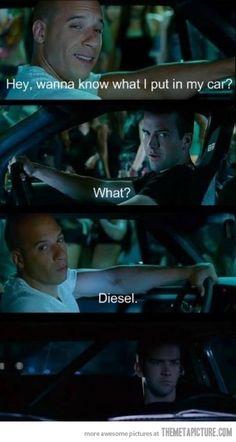 Witty Vin Diesel…@nikki striefler brooks