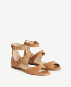 Thumbnail Image of Color Swatch 7748 Image of Ivette Leather Strappy Sandals