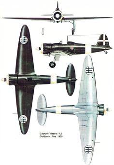 Caproni Vizzola F.5 - Regia Areonautica