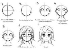 How to draw a simple anime girl how to draw anime face easily easy draw anime . how to draw a simple anime girl Drawing Lessons, Drawing Techniques, Drawing Tips, Drawing Tutorials, Drawing Ideas, Painting Tutorials, Manga Tutorial, Anatomy Tutorial, Eye Tutorial