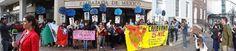 #Ayotzinapa: Manifestación en Washington DC por la presentación con vida de los 43 normalistas desaparecidos