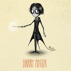 harry potter tim burton victor medina | Blog Hogwarts: todo sobre Harry Potter