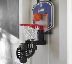 Geometric Gold Lamp | Basketball hoop