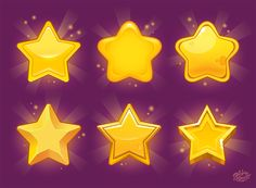 """Check out this @Behance project: """"Stars for games"""" https://www.behance.net/gallery/41714267/Stars-for-games"""