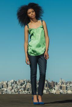 #gverri #gverristore #regata #seda #verde #calçajeans #moda #verão14