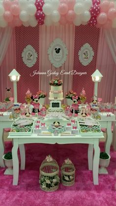 Party Minnie by Johanna Godoy Event Designer ♡