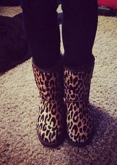 Cheetah uggs