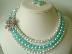 Tiffany Blue pearls