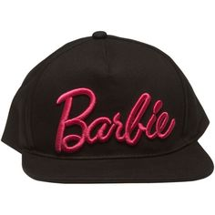 Barbie Snapback Hat Wet Seal (339.480 VND) ❤ liked on Polyvore featuring accessories, hats, wet seal, snap back hats, 6 panel hat, snapback hats and wet seal hats