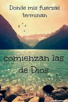Todo lo puedo en Cristo que me fortalece. Filipenses (I can do all things in Christ who strengthens me. Faith Quotes, Bible Quotes, Bible Verses, Me Quotes, Wisdom Quotes, Qoutes, God Loves Me, Spanish Quotes, Quotes About God