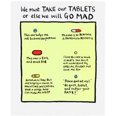We Must Take Our Tablets Card