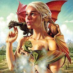 GOT - ''Mother of Dragons'' - Jason Edmiston  ----