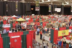 Over 600 booth spaces at the 2015 IXCC