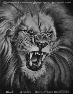 León por Garvel - Animales | Dibujando.net