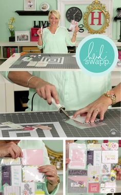 Introduction to the Photo Sleeve Fuse! My favorite new little… Project Life Scrapbook, Project Life Cards, Scrapbook Albums, Scrapbook Cards, Diy Craft Projects, Craft Tutorials, Pocket Craft, We R Memory Keepers, Heidi Swapp