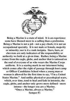 My son, always a Marine Marine Mom Quotes, Marine Corps Quotes, Cop Quotes, Marine Corps Humor, Badass Quotes, Crush Quotes, Once A Marine, My Marine, Usmc Humor