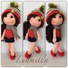 Mutlu, huzurlu bir haftasonu geçirmek dileğimle  #amigurumi #doll #dolls #bebek #örgü #bebek #oyuncaklar #oyuncakbebek #handmade #crochet #crocheting #örgübebek