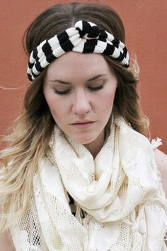 Knotted Headband @Ashley Teague i found ur twin lol