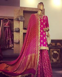 Planning to do your wedding shopping in Delhi? Then a trip to Haus Khas Lehenga stores is a must. Budget from INR to INR 3 Lakhs upwards. Indian Gowns, Indian Attire, Indian Wear, Stitching Dresses, Bridal Lehenga Choli, Silk Lehenga, Indian Designer Suits, Anita Dongre, Wedding Dresses For Girls