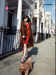 Lily Collins in Glamour UK Sept 2013