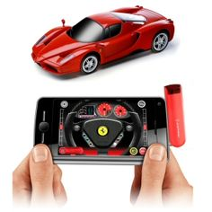 Phone Controlled Ferrari Racer